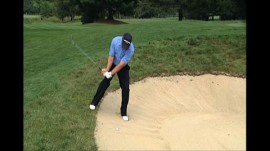 The Downhill Bunker Shot