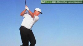 Jack Nicklaus' Signature Down the Line Swing