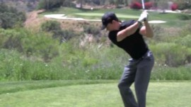 Mark Wahlberg Prepares for Pebble Beach