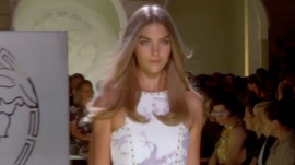 The Look of Versace Spring 2012