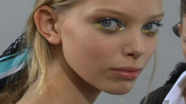 Allure Backstage Beauty: Metallic Eyes, Spring 2007