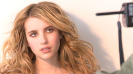 Emma Roberts's Cover Shoot