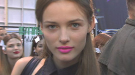 Allure Backstage Beauty: Matte Pink Lips, Spring 2008
