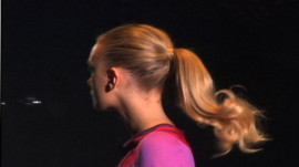 Allure Backstage Beauty: Bouncy Ponytails, Spring 2007