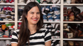 Accessories Editor Gisella Lemos's Dressed-Down Designer Look