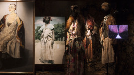 Tim Blanks Tours Dries Van Noten's First Art Exhibit - Inspirations