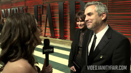 Alfonso Cuarón On Where He's Going to Put His Oscar