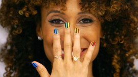 Rainbow Nails with Madeline Poole