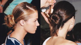 Allure Backstage Beauty: Simple Updos, Spring 2007