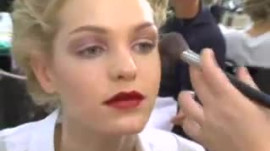 Allure Backstage Beauty: Deep Red Lips, Spring 2008