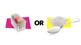 Artificial Sweetener vs. Real Sugar
