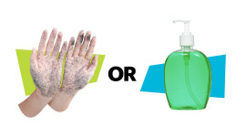 Unwashed Hands vs. Overusing Sanitizer