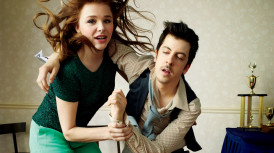 Chloe Grace Moretz and Christopher Mintz-Plasse for GQ's Comedy Issue - June 2013