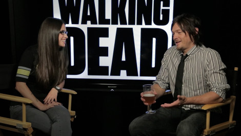 Zombie Apocalypse Survival Tactics from The Walking Dead's Norman Reedus