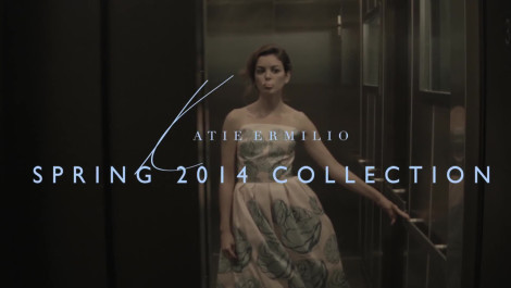 Katie Ermilio: Spring 2014 Video Fashion Week