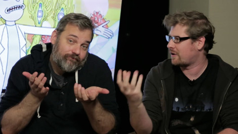 Community's Dan Harmon Talks About his Adult Swim Show Rick and Morty