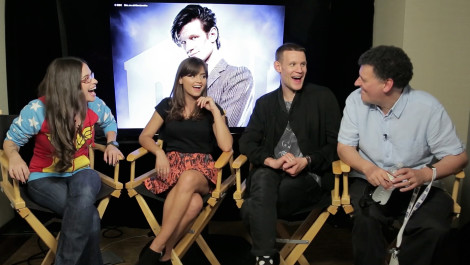 Matt Smith Says Farewell to the Cast of Doctor Who