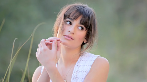 Behind the Scenes of Lea Michele's Big Photo Shoot