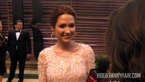 Ellie Kemper at the 2014 V.F. Academy Awards Party