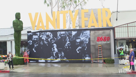 Setting the Stage: Building the 2014 V.F. Academy Awards Party