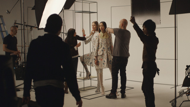 Just In - Vogue in Motion - On Set at the