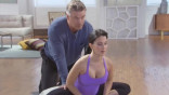 Exclusive: Alec and Hilaria Baldwin's Yoga Routine
