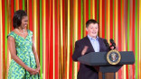 Epicurious @ The White House: Marshall Reid Speaks @ the Kids' State Dinner