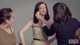 Andrea Riseborough Poses for the Vanities Opener