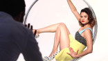 Melonie Diaz Poses for the August 2013 Vanities Opener