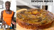 DeVonn Makes Torched Banana Cake