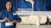Melissa Makes Fresh Spring Rolls (Lumpiang Sariwa)