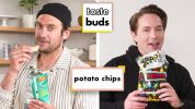Beck Bennett & Brad Try 10 Kinds of Potato Chips