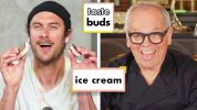 Wolfgang Puck & Brad Try 8 Kinds Of Ice Cream