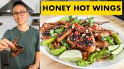 The Best Grilled Honey Hot Wings You've Ever Had