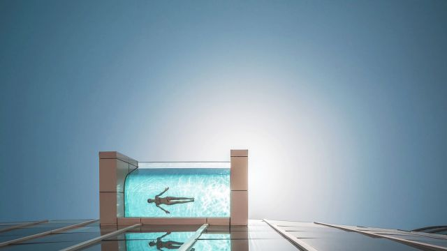 Architectural Digest presents the six most daring swimming pools in the  world. These daring pools