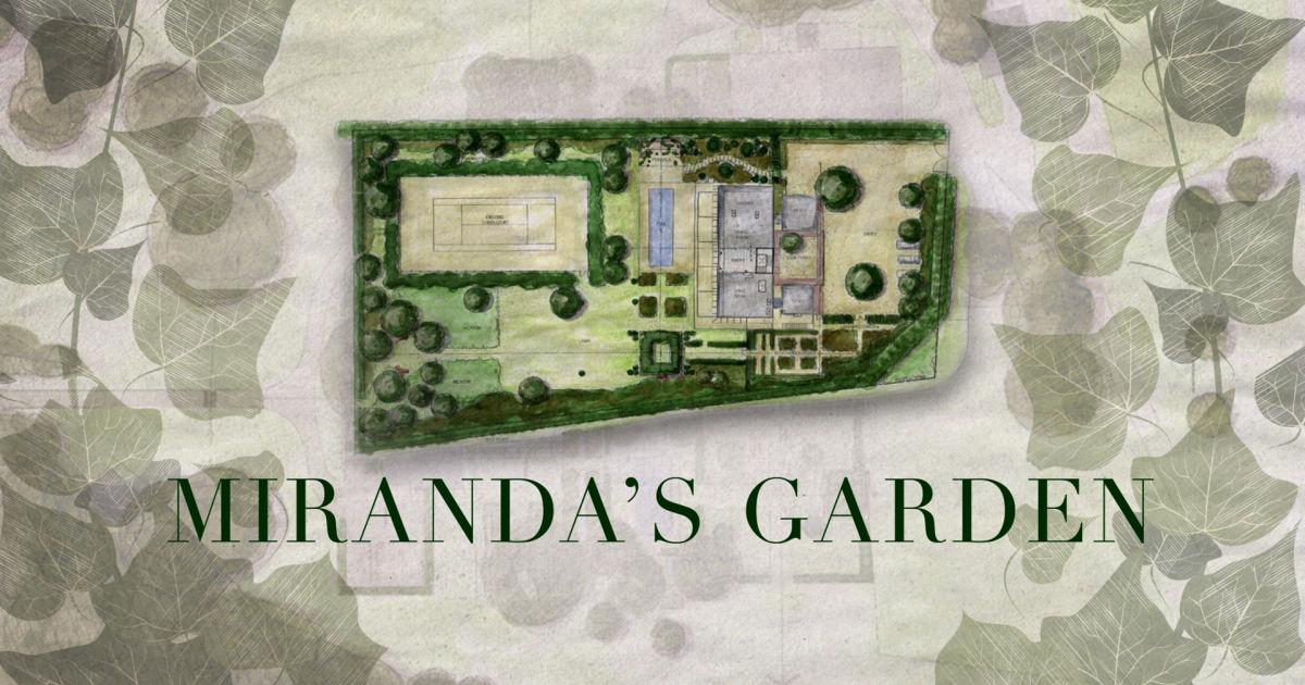 Vogue Mirandas Garden Video Series Voguecom