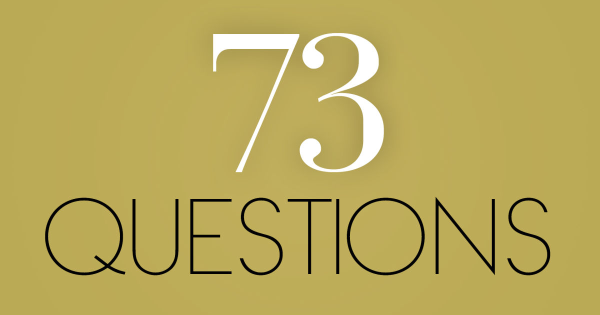 Image result for vogue 73 questions