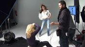 Miley Cyrus Takes You Behind the Scenes of her 2009 Glamour Magazine Cover Shoot