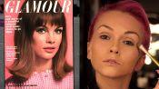 How to Recreate Supermodel Jean Shrimpton's 1964 Glamour Pastel Eye Shadow