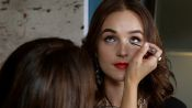 Amp Up Your Daytime Cat Eye with Glitter for Night
