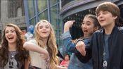 Rowan, Sabrina, and Their Friends Learn to Draw at Disney California Adventure