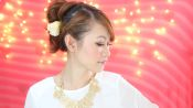 Simple Bridal Makeup and Hair Tutorial