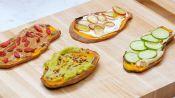 "4 Ways To Make Gluten-Free Sweet Potato ""Toast"""