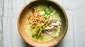 Stick-To-Your-Bones Chicken and Rice Soup