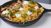 Cheesy Chicken Enchilada Skillet