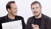 Liam Neeson & Patrick Wilson Answer the Web's Most Searched Questions