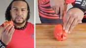 50 People Try to Chop & Deseed a Pepper
