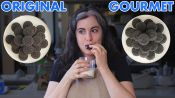 Pastry Chef Attempts To Make Gourmet Oreos