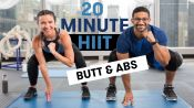 20-Minute HIIT Butt & Abs Workout