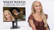 Paris Hilton Plays 'What Would Paris Do?'